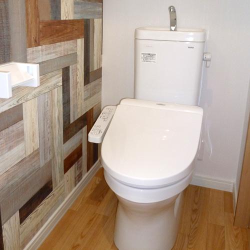 ウォッシュレット付トイレの画像