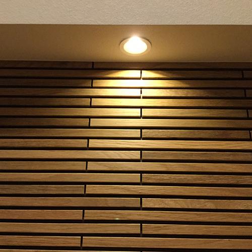 Hi-センサー付玄関照明の画像