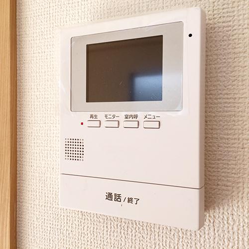 カラーモニター付インターホンの画像